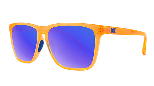 Knockaround Sport Fast Lanes Neon Orange / Moonshine