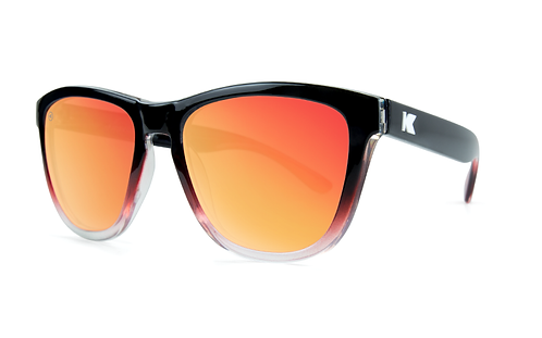 Knockaround Premiums Glossy black red ice / Sunset