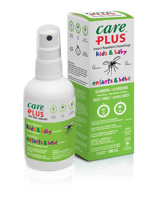 Care Plus 20% Icaridin Kids 100ml