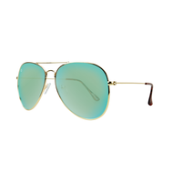 Mile Highs Gold / Aviator Aqua