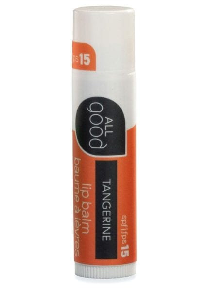 All Good SPF 15 Tangerine Lip balm