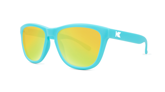 Kids Premiums Matte Blue / Yellow