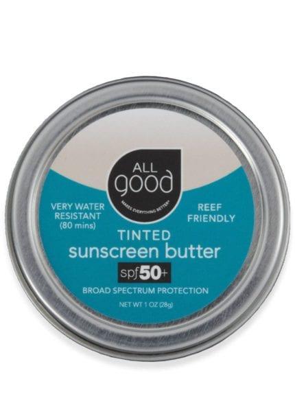All Good SPF 50+ Tinted Suncreen Butter