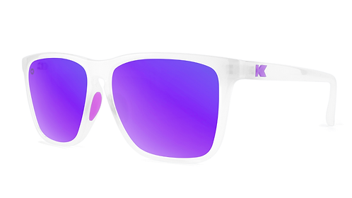Knockaround Sport Fast Lanes Clear Jelly / Purple