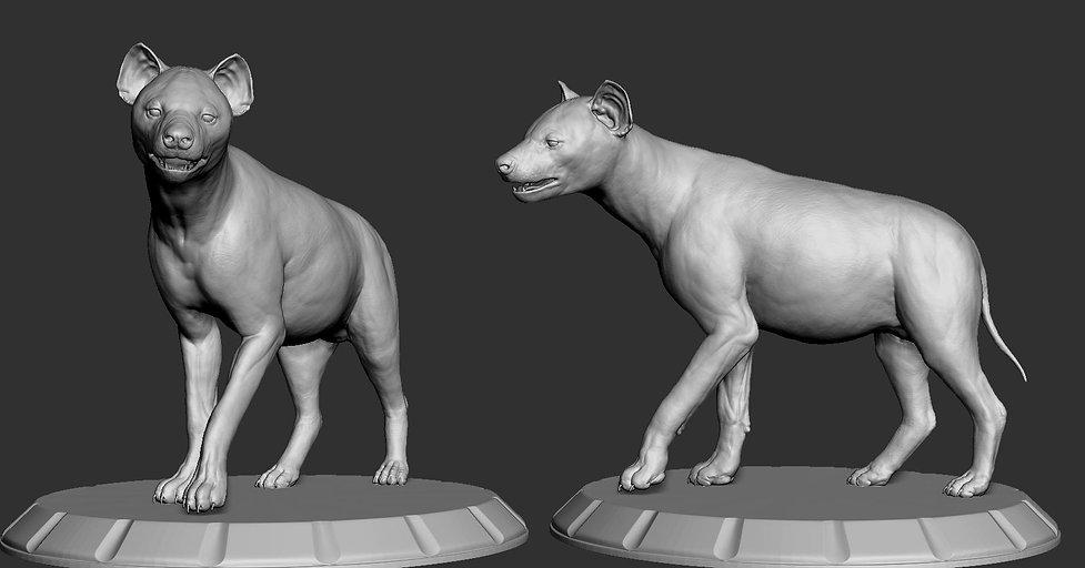HyenaSculpts.JPG