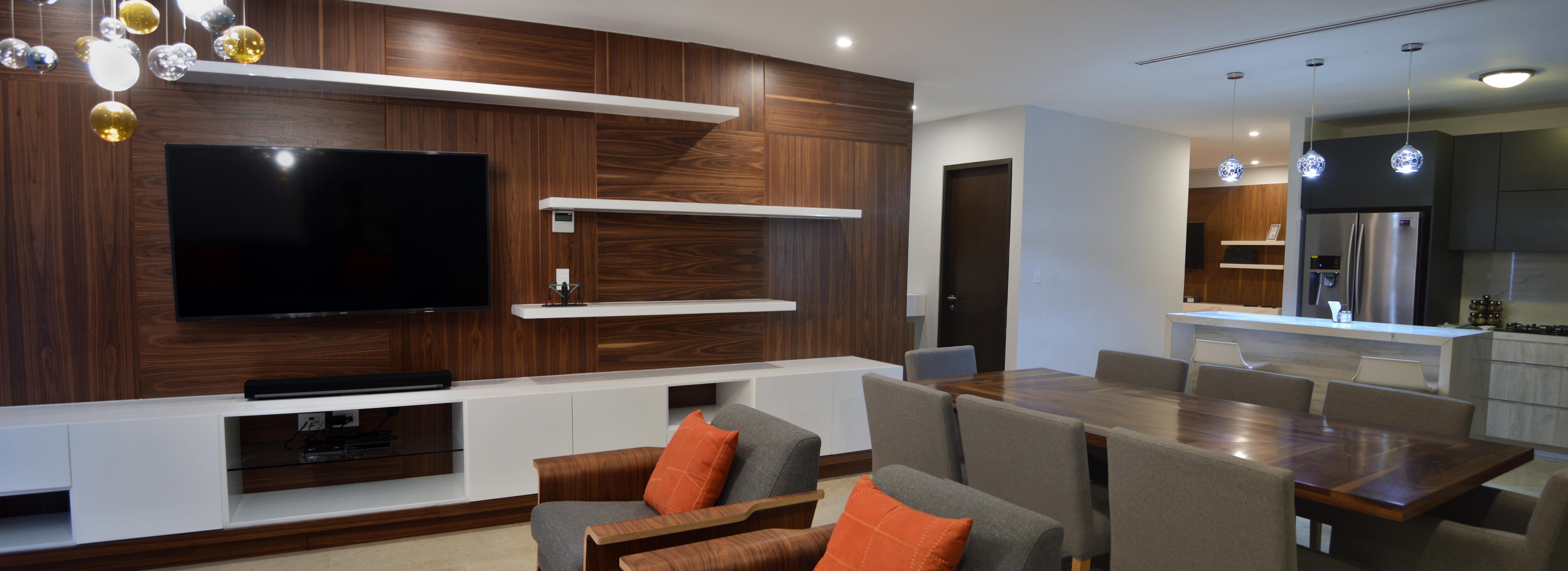 Mueble de Tv, Comedor y Cocina