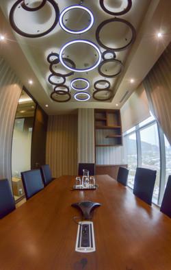 Luminaria en Sala de Juntas