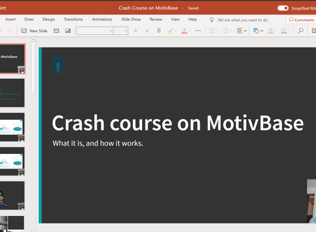 MotivBase Crash Course