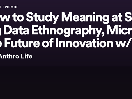 Ujwal Arkalgud on This Anthro Life Podcast: The study of meaning with AI.