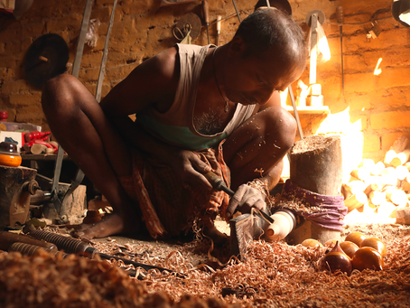 Wood Turning Craft of Varanasi