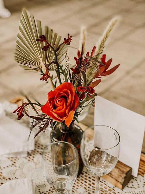Medium Amber Vase