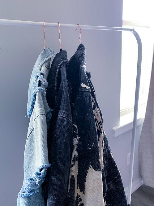 Cropped Jean Jacket (Oversized)