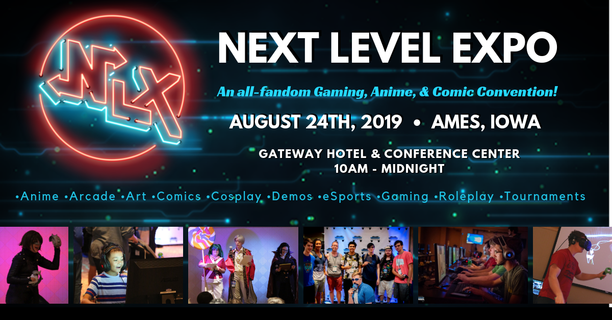 Next Level Expo   Gaming, Anime & Comic Event