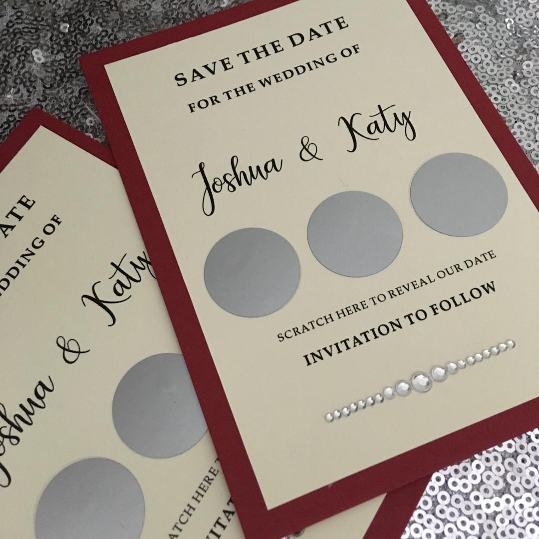 Scratch save the dates