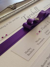 table plan purple