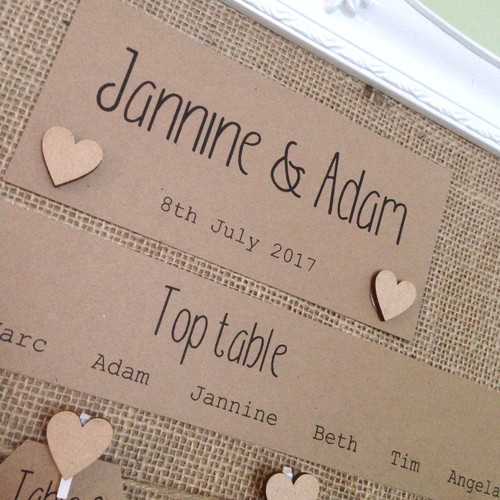 Hessian Table Plan