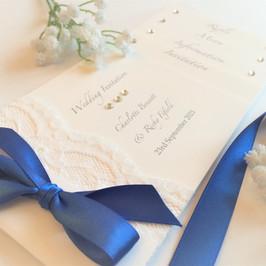 cheque book invites