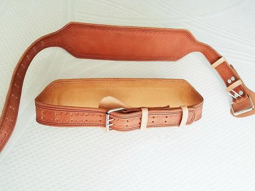 Cinturón de Levantamiento 100% Cuero (12 cm ancho)