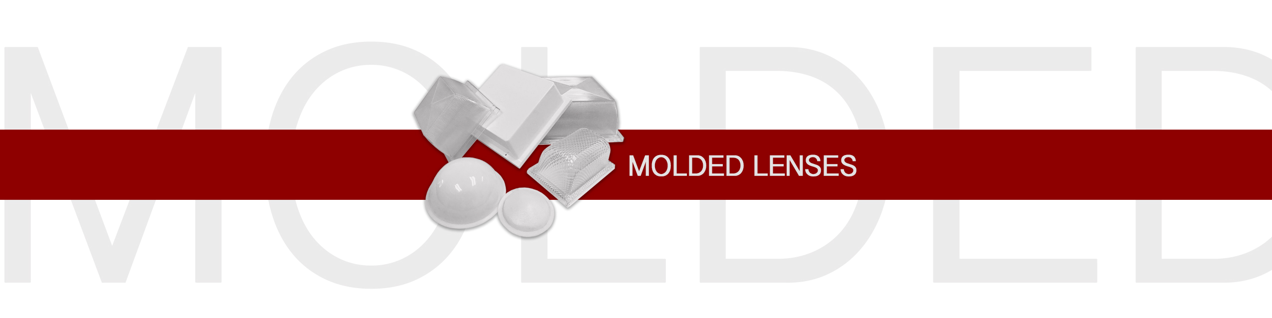 MOLDED LENSES BANNER