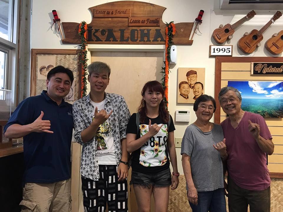 2018 夏威夷拜訪Koaloha