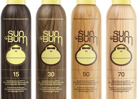Sun Bum Original Moisturizing Sunscreen Spray, 6 oz Bottle, 1 Count, Broad Spect