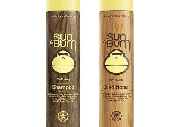 Sun Bum Shower Hair Care (Revitalizing Shampoo/Conditioner)