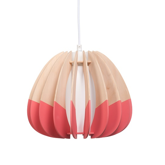 Small Quarterium 'Double Dipped' Pendant Light