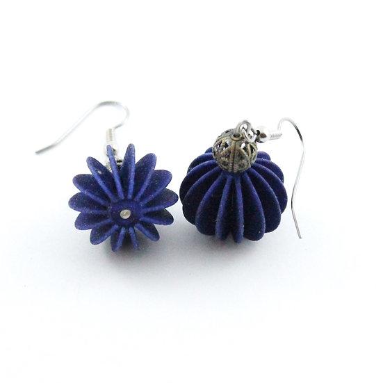 Ear Lollie Mutant Two Navy Blue & Bead