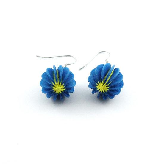 Ear Lollies Blue & Yellow Thread