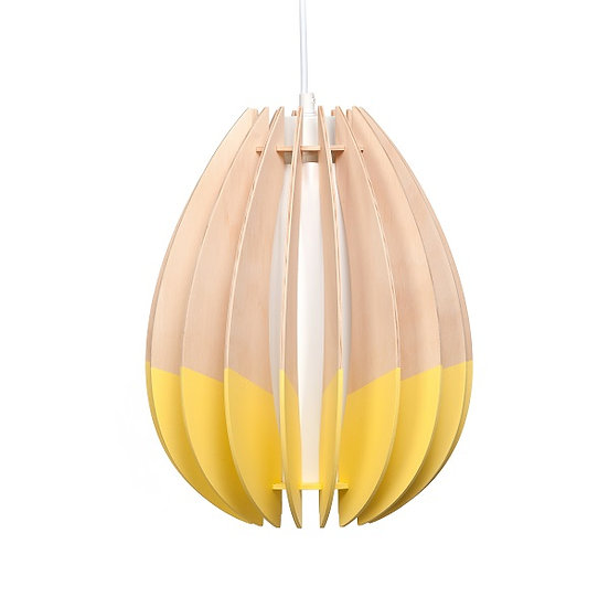 Oval 'Double Dipped' Pendant Light