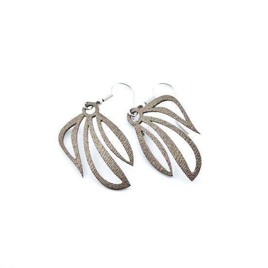 Leafy Earring Bronze