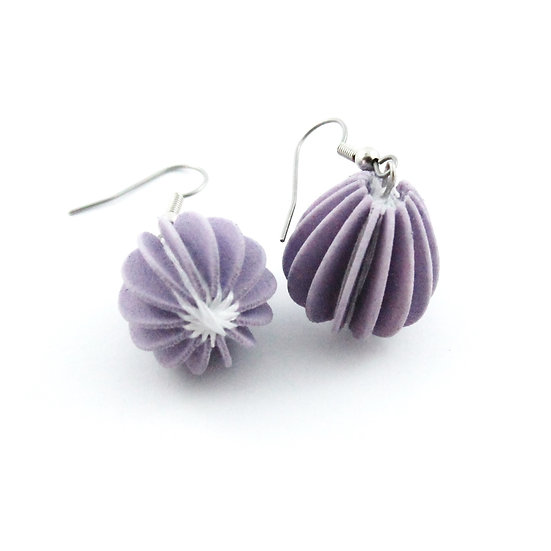 Ear Lollies Violet & White Thread