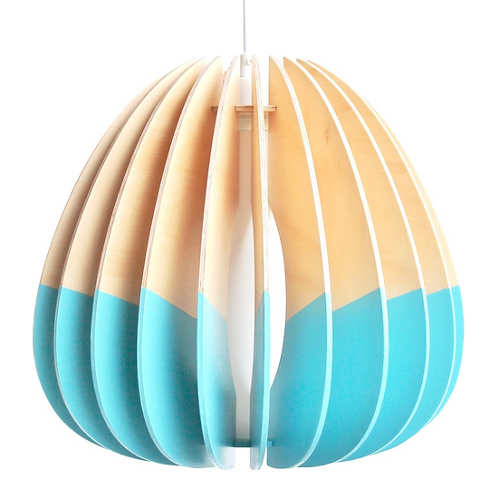 Quarterium 'Double Dipped' Pendant Light