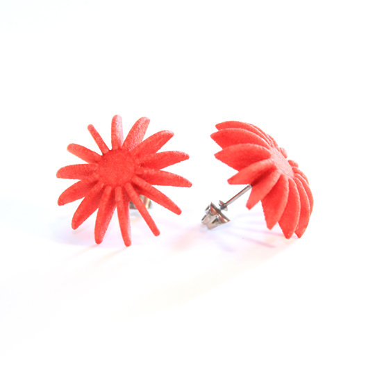 Ear Lollies Studs Red