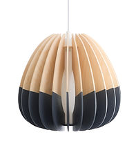 Quarterium Pendant light | Mutating Creatures