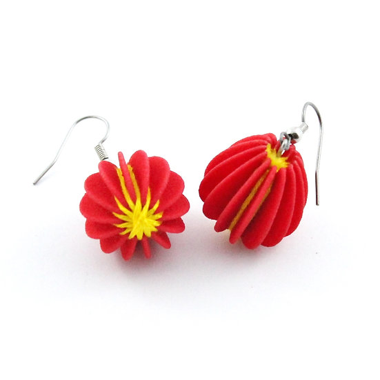 Ear Lollies Red & Yellow Thread