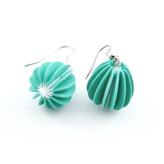 Ear Lollies Peppermint Green & White Thread