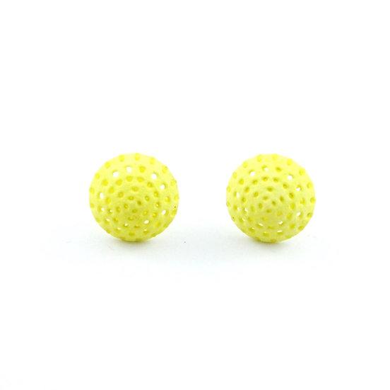 Ear Lollies Drops Neon Yellow