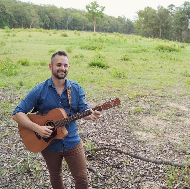 Steve Brisbane solo artist Paper Hearts