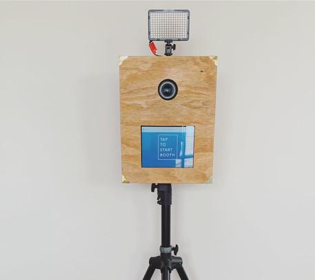 tap to start photobooth
