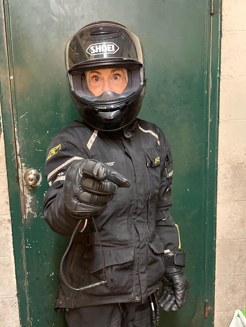 Motorcycle Gear - Rachel Dwyer