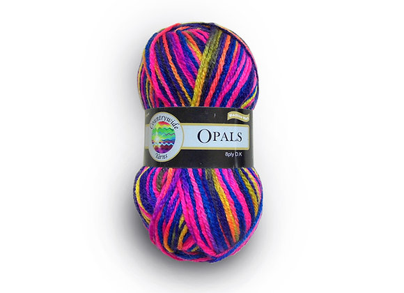 Countrywide Yarns Opals Super Soft 8 ply Multi