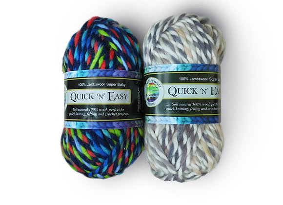 Countrywide Yarns Quick 'n' Easy Super Bulky Twist