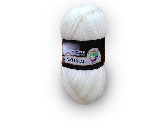 Countrywide Yarns Natural 14 ply Chunky