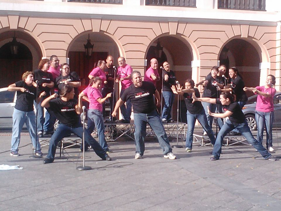 Latins street concert
