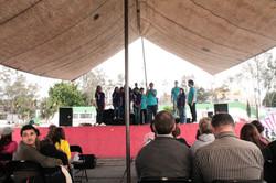 Mexico tent concert