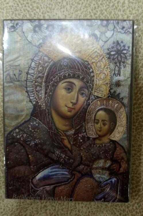 """Икона №1маленькая """"Вифлеемская Божья Матерь"""""""