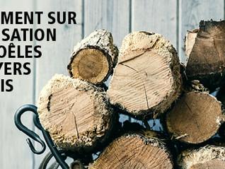 Montréal - Foyers et poêles au bois