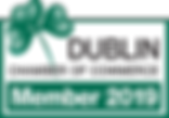 2019 Dublin Chamber Member Logo Color.pn