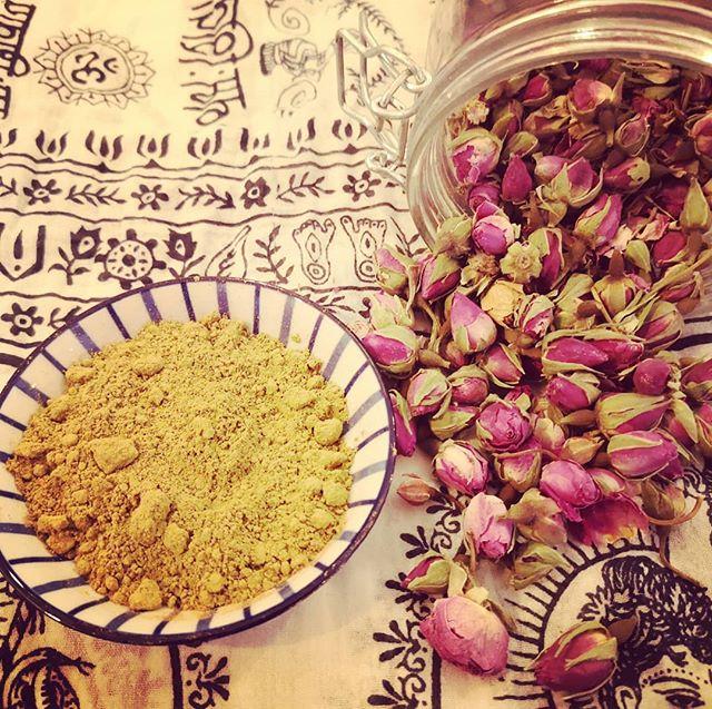 La poudre de Rose de Damas _Nous l'adoro